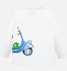 Mayoral Mayoral Long Sleeve Vespa T-Shirt
