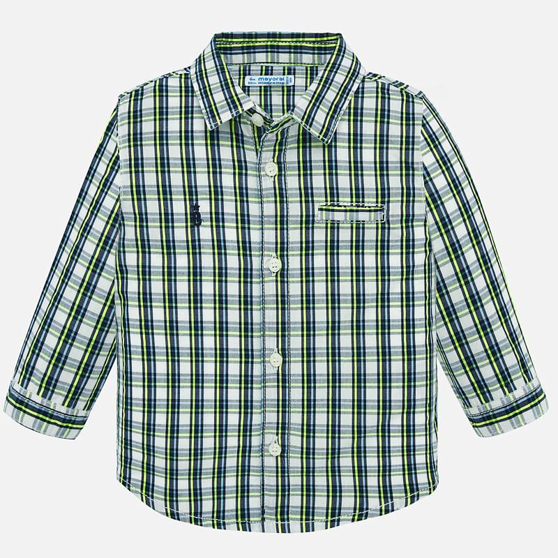 Mayoral Mayoral Long Sleeve Checked Shirt