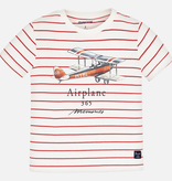 Mayoral Mayoral Striped Short Sleeve T-Shirt