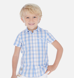 Mayoral Mayoral Short Sleeve Button Down Shirt