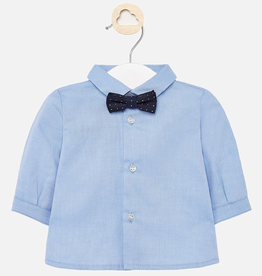 Mayoral Mayoral Long Sleeve Shirt with Bowtie