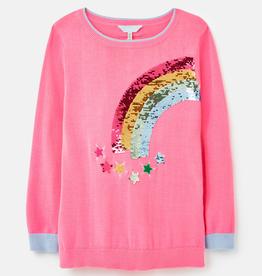 Joules Joules Meryl Rainbow Long Sleeve Shirt