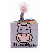 JellyCat Jelly Cat If I were a Hippo Book