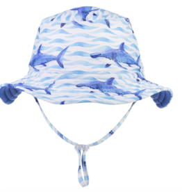 Snapper Rock Snapper Rock School Of Sharks Reversible Hat