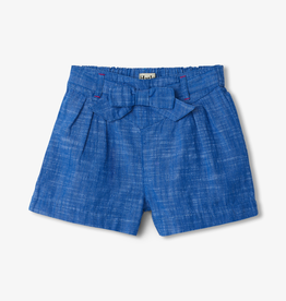 Hatley Hatley Belted Chambray Shorts