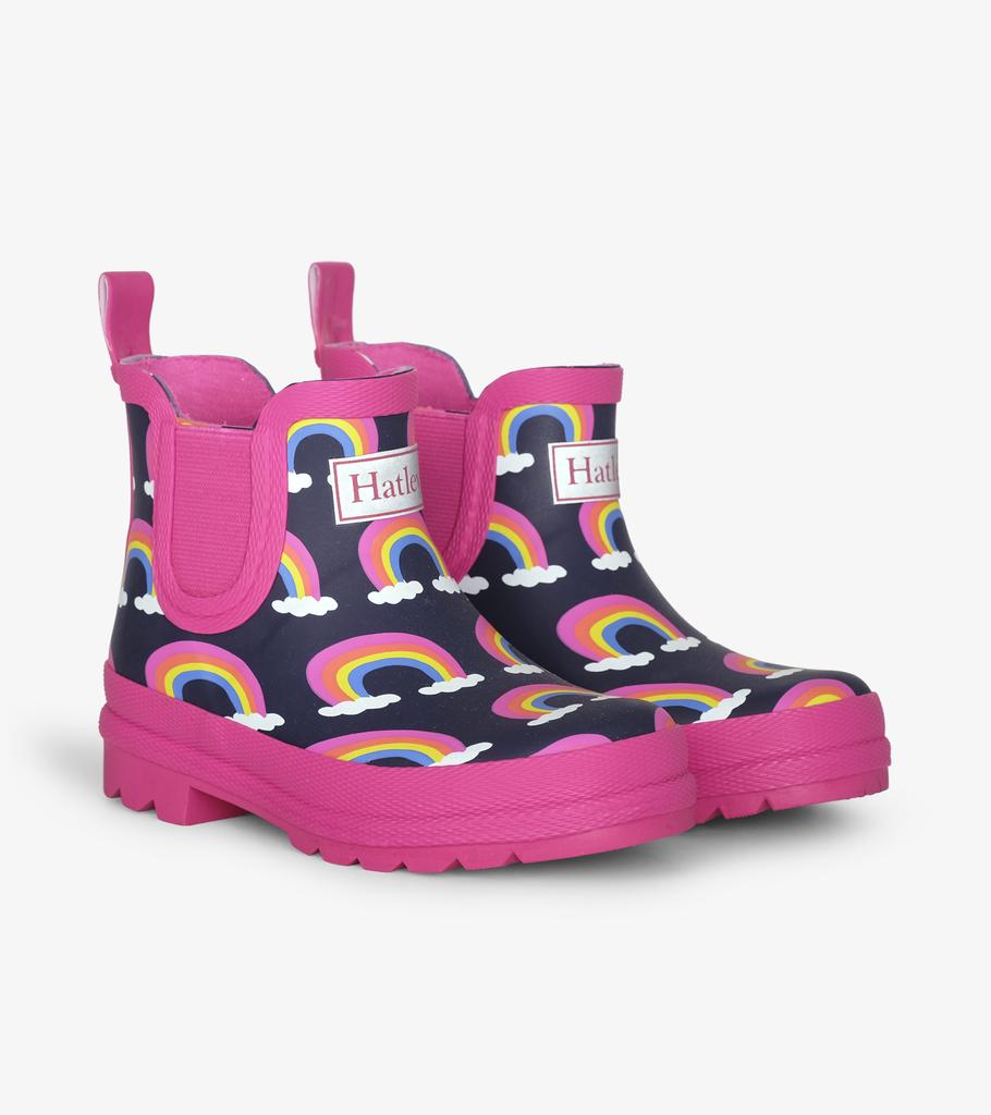 Hatley Hatley Rainbow Ankle Rain Boots