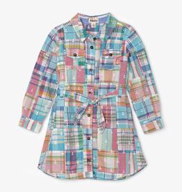 Hatley Hatley Seashore Madras Plaid Belted Dress