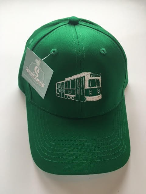 Sidetrack Sidetrack Green Line Baseball Hat