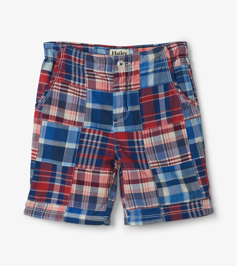 Hatley Hatley Madras Plaid Shorts