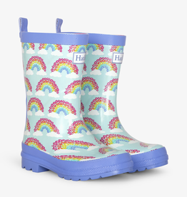 Hatley Hatley Magical Rainbows Shiny Rain Boots