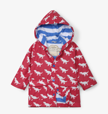 Hatley Hatley T-Rex Silhouettes Color Changing Baby Raincoat
