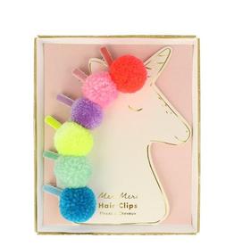 Meri Meri Meri Meri Pompom Unicorn Hair Clips