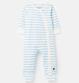 Joules Joules Zippy Striped Footie
