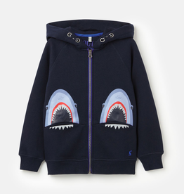 Joules Joules Shark Zip-up Sweatshirt