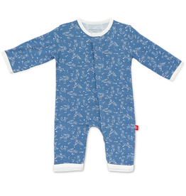 Magnificent Baby Magnificent Baby Sky Bunny Modal Coverall