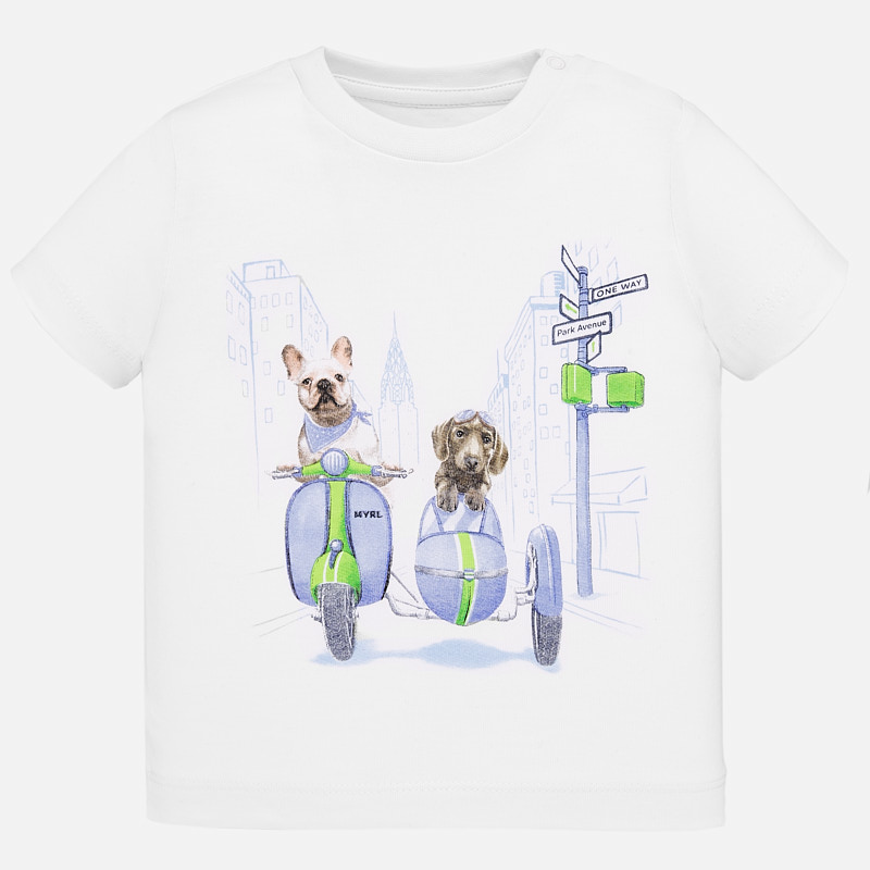 Mayoral Mayoral Short Sleeve Sidecar T-Shirt