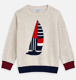 Mayoral Mayoral Boat Print Pullover