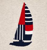 Mayoral Mayoral Boat Print Pullover