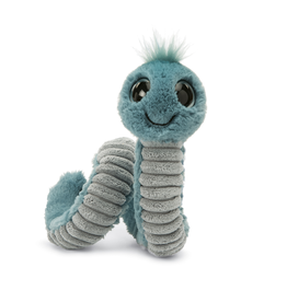 JellyCat Jelly Cat Blue Wiggly Worm