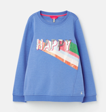 Joules Joules Viola Happy Print Sweater
