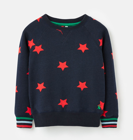 Joules Joules Monty Red Stars Sweater
