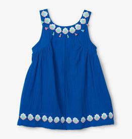 Hatley Hatley Floral Shells Gathered Dress