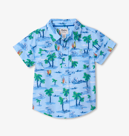 Hatley Hatley Hawaiian Tropics Short Sleeve Button Down