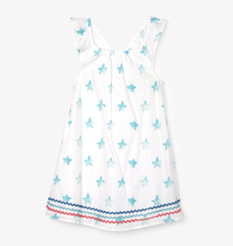 Hatley Hatley Painted Stars Bow Back Dress