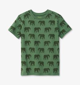 Hatley Hatley Elephant Herd Graphic Tee