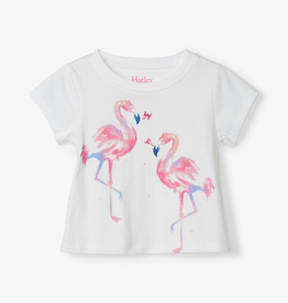 Hatley Hatley Fancy Flamingos Tee