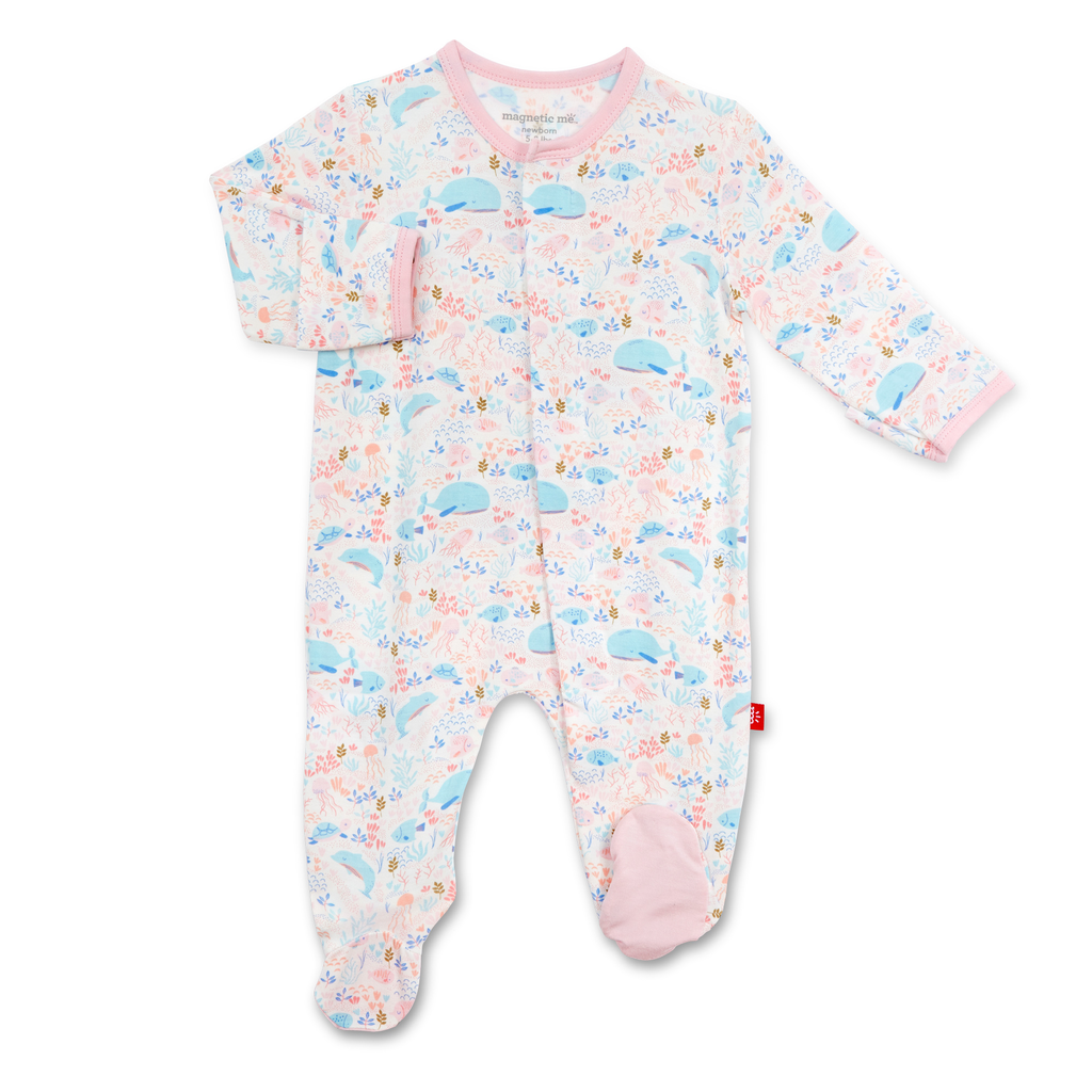 Magnificent Baby Magnificent Baby Sea Of Splendor Modal Magnetic Footie