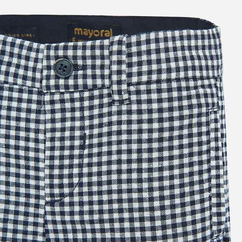 Mayoral Mayoral Linen Dress Shorts