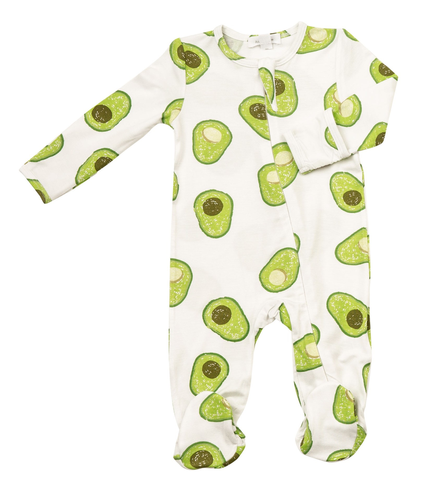 Angel Dear Angel Dear Avocado Footie