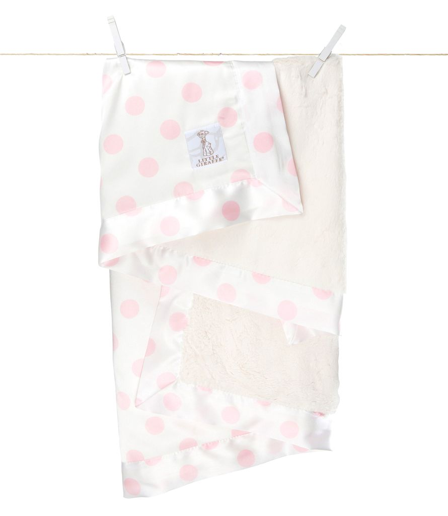 Little Giraffe Little Giraffe Luxe Cream Blanket *more colors*