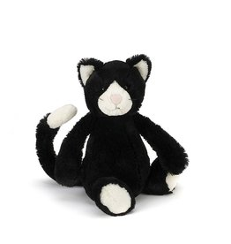 JellyCat Jelly Cat Bashful Black and White Cat Small