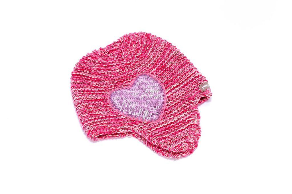 Peppercorn Kids Peppercorn Kids Sequin Heart Beanie *More Colors*
