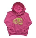 Sidetrack Sidetrack Green Line Hoodie- Pink