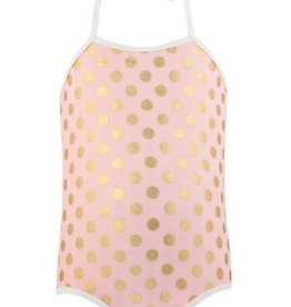 Snapper Rock Snapper Rock Ballet Dots Halter Swimsuit