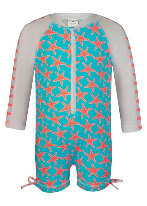 Snapper Rock Snapper Rock Starfish Long Sleeved Sunsuit