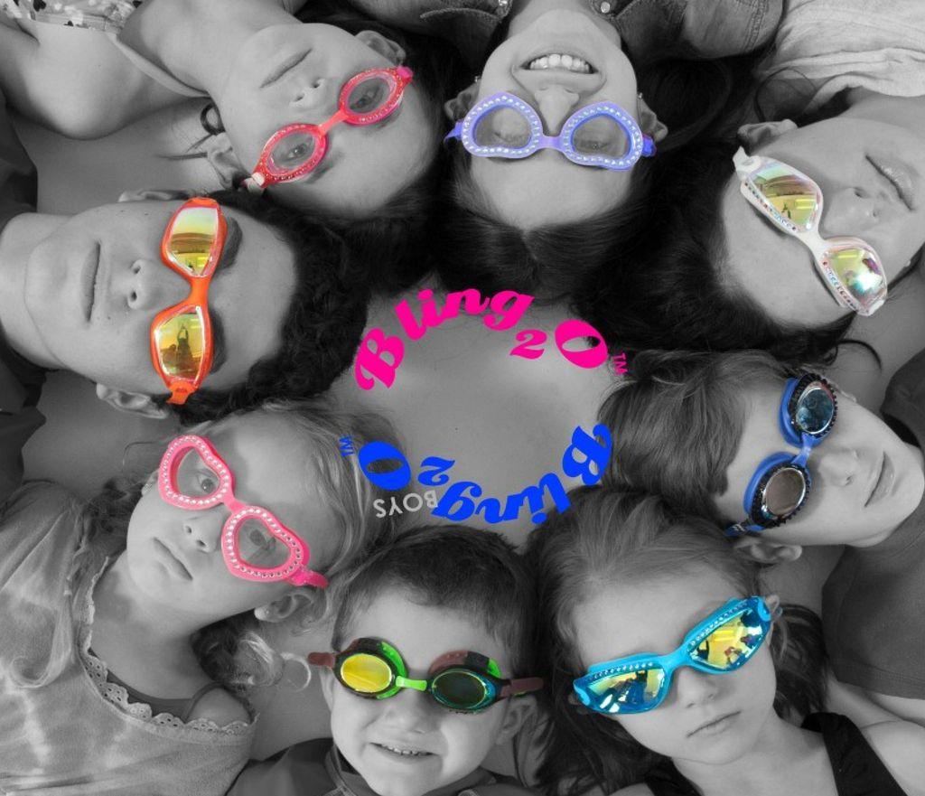Bling2o Bling2o Splash Lash Swim Goggles