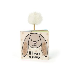 JellyCat Jelly Cat If I were a Beige Bunny Book