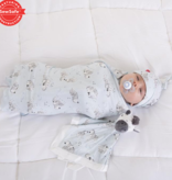 Magnificent Baby Magnificent Baby Little Ones Zebra Modal Swaddle Blanket