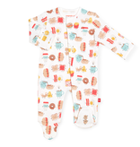 Magnificent Baby Magnificent Baby Better Together Organic Cotton Footie