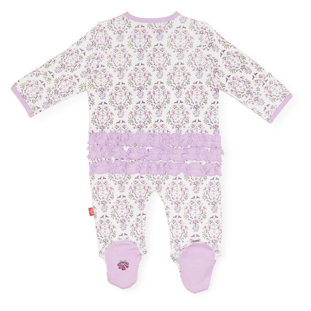 Magnificent Baby Magnificent Baby Unicorn Dreams Organic Cotton Footie