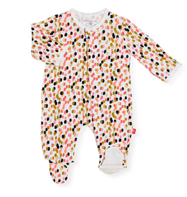 Magnificent Baby Magnificent Baby Confetti Modal Footie