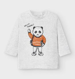 Mayoral Mayoral Long Sleeve Panda T-shirt