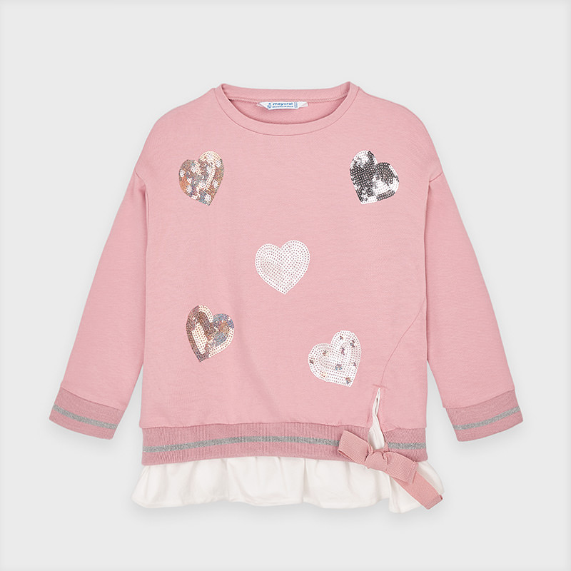 Mayoral Mayoral Heart Sweater