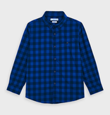 Mayoral Mayoral Flannel Long Sleeve Shirt
