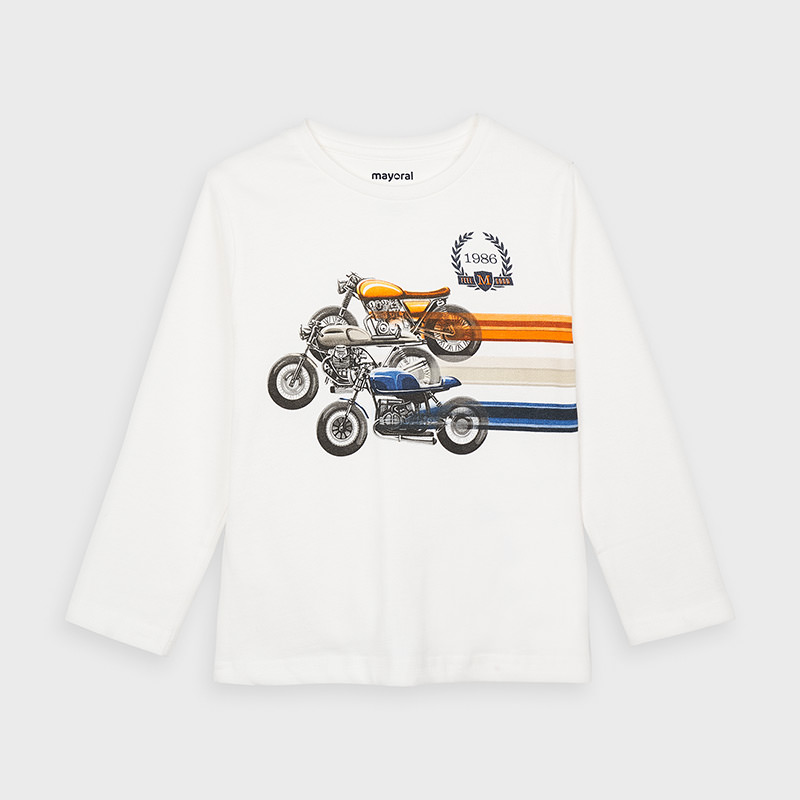 Mayoral Mayoral Long Sleeve Tee Shirt