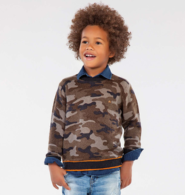Mayoral Mayoral Camo Sweater